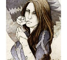 Lyanna Stark_iPhone cases by elia, illustration