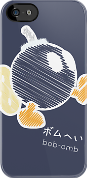 bob-omb -scribble- by steve landaverde