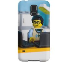 Geek @ work Samsung Galaxy Case/Skin