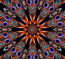 Purple Sphere Kaleidoscope 15 2012 by fantasytripp
