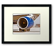 Rolls Royce Trent 700  Jet Engine on an Airbus 330-200 Framed Print