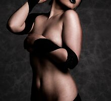 Alice in Black Bandages by HandsworthPhoto
