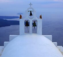 Santorini Splendor by Bob Christopher