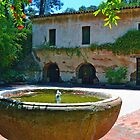 Court Yard Fountain at El Molino Viejo by philw