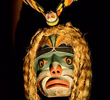 Haida Mask 2 by Bob Christopher