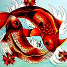 Koi fish by Chloeosity
