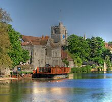 All Saints Maidstone  by larry flewers