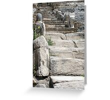 Marble Aisle and Seats Greeting Card