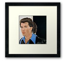 What do you mean there's a strand of hair out of place? Framed Print
