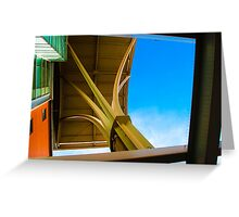 Toronto Western Arches Greeting Card