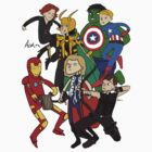 Avenger team by Cheeselock