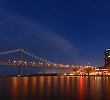 Night Embarcadero  by fototaker