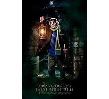 Night Shift, Haunted Mansion Series by Topher Adam The Dark Noveler Photographic Print