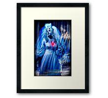 Ghost Bride, Haunted Mansion Series by Topher Adam The Dark Noveler Framed Print