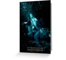 The Hitchhiking Ghosts, Haunted Mansion Series by Topher Adam The Dark Noveler Greeting Card