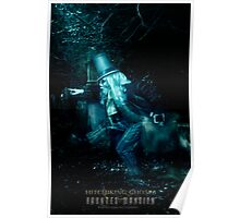 The Hitchhiking Ghosts, Haunted Mansion Series by Topher Adam The Dark Noveler Poster