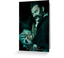 Uncle Jacob, Haunted Mansion Series by Topher Adam The Dark Noveler Greeting Card