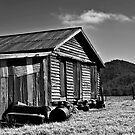 Stony Creek Cottage (B&W) by Fred McKie