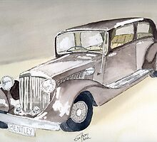Bentley 1934 by Eva  Ason
