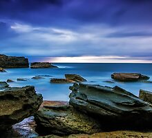 Oceans' Blues by Mark  Lucey