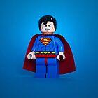Lego Superman iPhone case by designholic