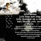 Life moves by Maree Clarkson