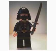 Black Japanese Samurai Warrior Minifigure / TMNT Shredder Custom LEGO® Minifigure, by 'Customize My Minifig' by Chillee