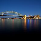 Sydney In The Blue Hour by Jeremy Harrington