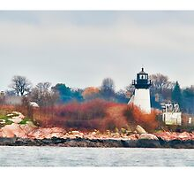 Ten Pound Island Light by Richard Bean