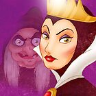 Snow White Evil Queen - iPhone Case by Lauren Draghetti