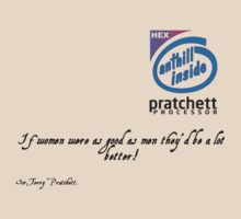 If Women Were As Good As Men - Sir Terry Pratchett by Buleste