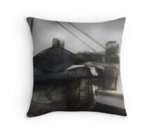 Anchors Away Throw Pillow