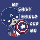 My Shiny Shield And Me by saltyblack