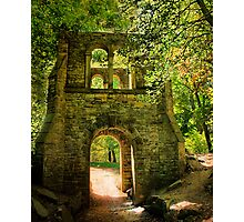 Through the Arch. Photographic Print