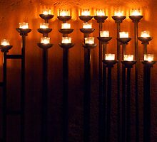 Standing Candelabra by phil decocco