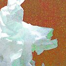 marilyn monroe flower abstract 1 by Ronald Eschner