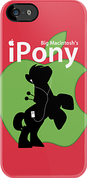 Big Macintosh&#x27;s iPony (with extra Apple!) by Eniac