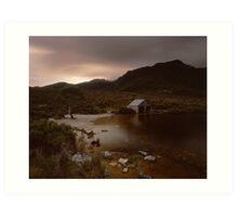 """The Boat Shed"" ∞ Cradle Mountain, Tasmania - Australia Art Print"