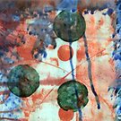 Three green dots by Maraia