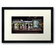 Back in time - To save the future. Framed Print
