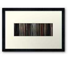 Moviebarcode: Drive (2011) Framed Print