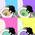 pop art cat by conceptsbydrew