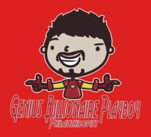 Genius Billionaire Playboy Philanthropist by saltyblack