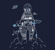 Interstellar Travels Kids Clothes