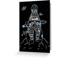 Interstellar Travels Greeting Card