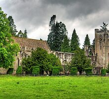 The Cathedral at Dunkeld by Tom Gomez