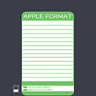 IPhone Floppy Label - green by Maggie McFee