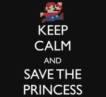 Keep Calm Mario by machmigo