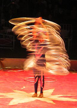 Jump, Hoop Lady by Christine Ford