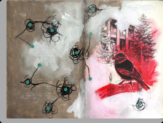 AlteredBook12 #6 by zoe trap